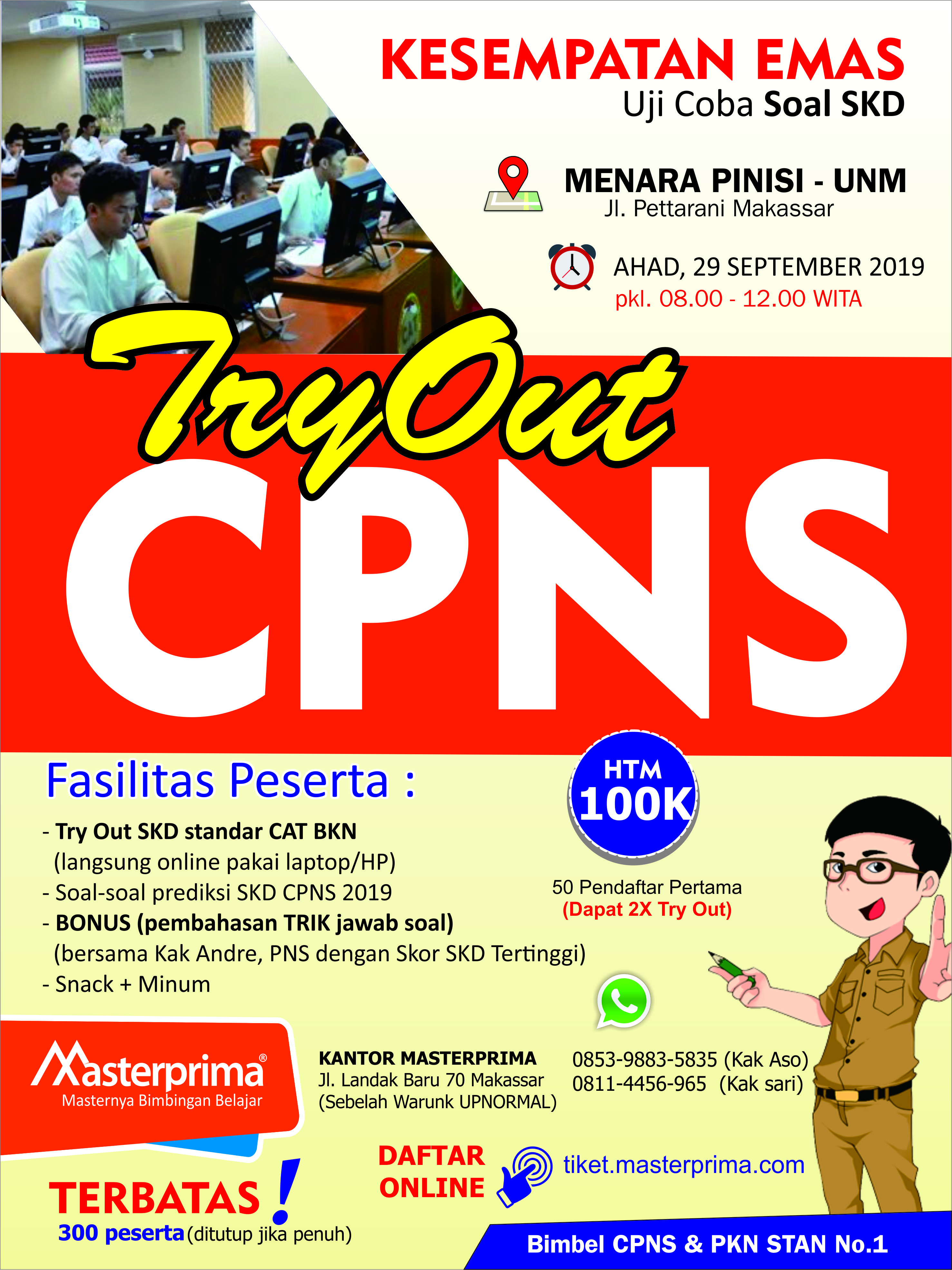 Try Out SKD CPNS 2019