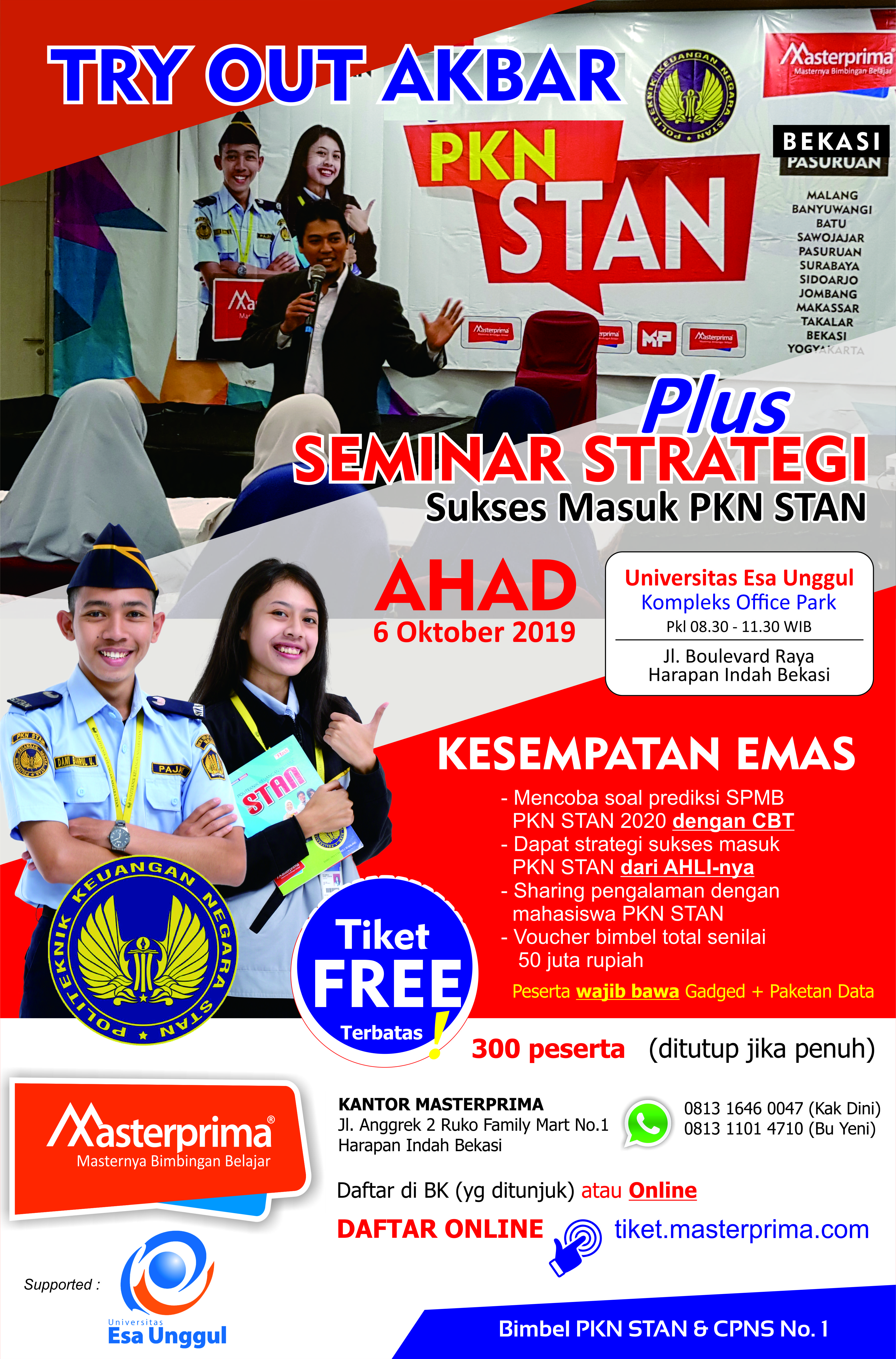 Seminar dan Try Out PKN STAN